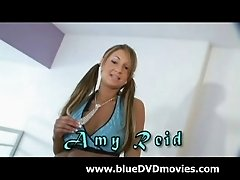 Amy Reid Strips and Sucks