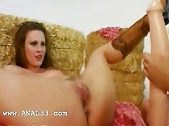 two girsl loving anal with guy