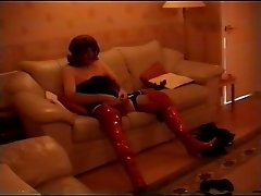 Alison Thighbootboy & Celeste - trannies in thighboots