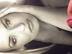 Cumshot Tribute for Sarah Connor