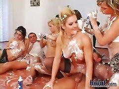 These girls got drilled