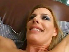 Blonde Stunner Fucked Hard On An Armchair M22