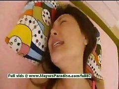 Mai Uzuki hot asian girl enjoys a hard fucking