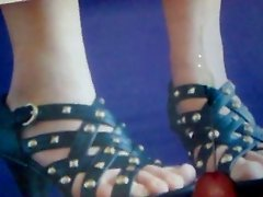 Wichsen auf Ellihot - Schuhe