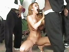 Busty Sluts in Hot Interracial Gang Bang Parties