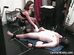Hot sexy MILF brunette nasty chick part4