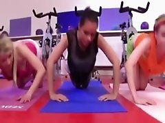 These girls would rather be doing somthing else to keep in shape