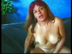 Redheaded TS Gets Cum