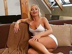 Sylvia Saint fondles her adorable titties making everyone dream of it