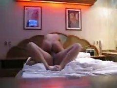 pareja en hotel