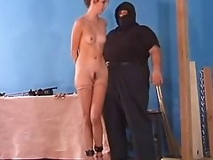 tiny titted slave