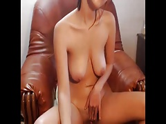 Girl fingering her cunt