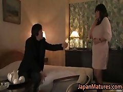 Hot slut Rumi Kazama sucks and fucks part2