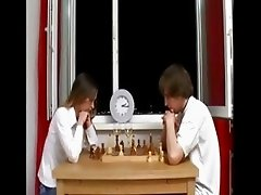 ivana playing chess and after penetrate