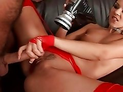 Alluring European babe gives amazing blowjob