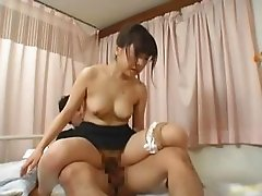 Japanese female doctor gets some hot sex part4