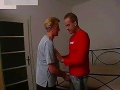 Busty Granny in Stockings Fucks