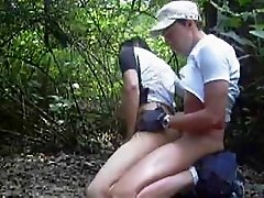 Amateur twinks in the woods