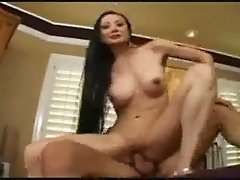 Asian ride his Cock with her As
