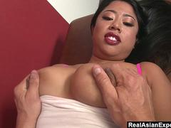 Kya Tropic Gets Her Big Tits Slapped Hard