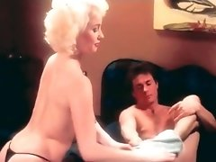 Superb Vintage Pornstar Helps Horny Guy To Take Off His Pants
