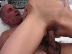 Busty 19yo babe cockrides horny grandpa