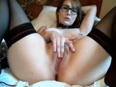 Charlotte Stokely sexy solo masturbation