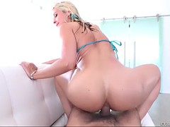 furious deepthroating and ass fucking session with cheeky milf sarah vandella