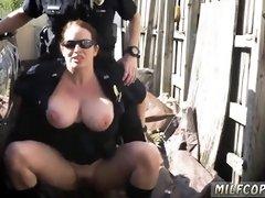 Big tit milf interracial anal threesome Black artistry
