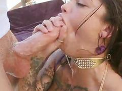 Sweet babe Bonnie Rotten fucking a meaty pole