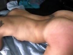 Busty girl ass fuck
