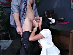 aryana augustine worships that dick and sucks it