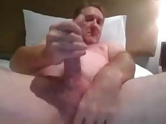 Married man shoots creamy load