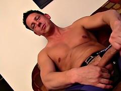 hot straight guy masturbating ryan