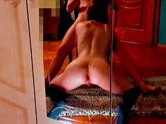 mirror blowjob