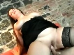 Superb fatty loves getting her pussy