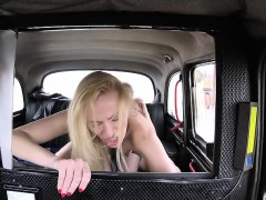 Afina Kisser gets a good backseat pounding
