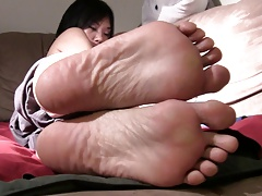 Sexy Asian Wrinkled Soles