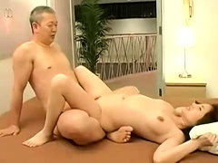 Gorgeous Japanese babe submits to every hard inch of cock