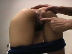 Japanese Girl Getting Fingered