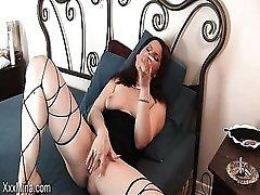 Smoking milf Mina in sexy compilation
