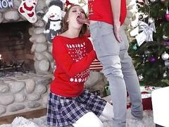 Cute teen Riley Mae pounded by her stepbro