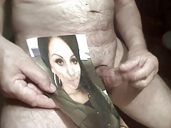 Tribute for herbert900 - her hot tongue loves sperm