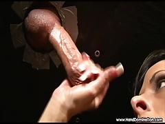 gold-digger cuckold handjob