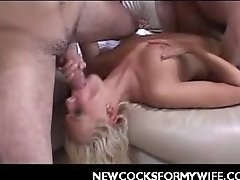 Housewife Nasty Gang Bang