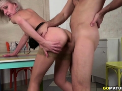 Hot housewife Artemia fucking and sucking