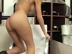Tgirl tries the longest fucktool in her life