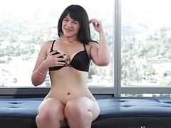 Big booty lady has interracial fuck fest with casting agent