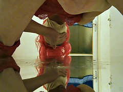 to fuck me in the mirror