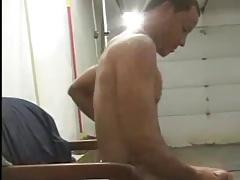 girl jerks and sucks cock